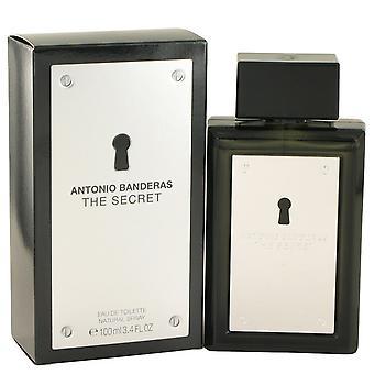 The Secret by Antonio Banderas Eau De Toilette Spray 3.4 oz / 100 ml (Men)
