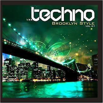 Direktantrieb: Techno Brooklyn Style - Vol. 1-Direct Drive: Techno Brooklyn Style [CD] USA Import