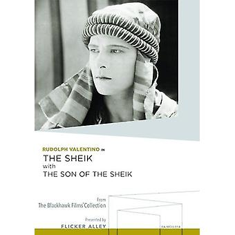 Sheik with the Son of the Sheik [DVD] USA import