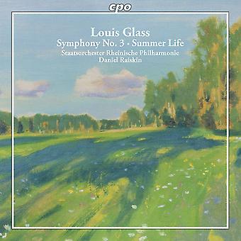 Glass / Raiskin / Rhenish Phil Orch - Glass / Raiskin / Rhenish Phil Orch: Complete Syms 1 [CD] USA import