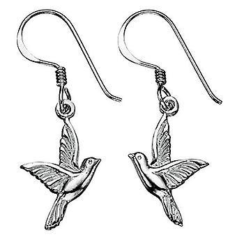 925 zilveren vogel Earring