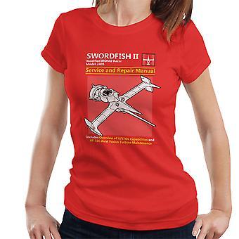 Cowboy Bebop zwaardvis Service en reparatie van handmatige Women's T-Shirt