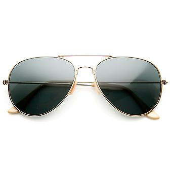 Klassieke originele Pilot metalen Aviator zonnebril