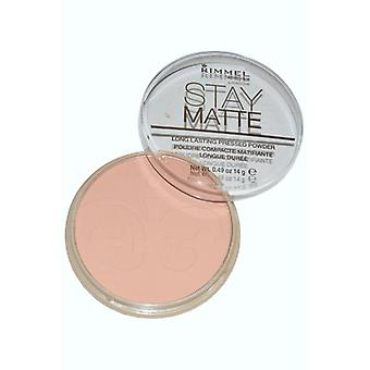 Rimmel London Stay Matte Pressed Powder 14g Amber (#009)