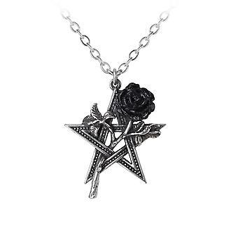 Alchemy Rose Pentagram Pendant