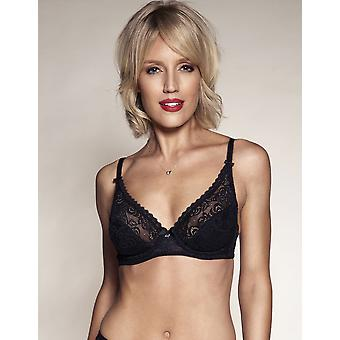 Berlei Comfort Heaven Lace Black Non Wired Bra B5040