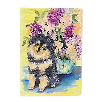 Carolines Treasures  SS8290-FLAG-PARENT Pomeranian Flag