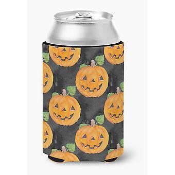 Watecolor Halloween Jack-O-Lantern kan of fles Hugger
