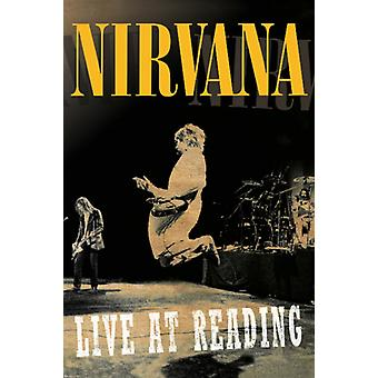 Nirvana - Live At Reading Poster Poster Print