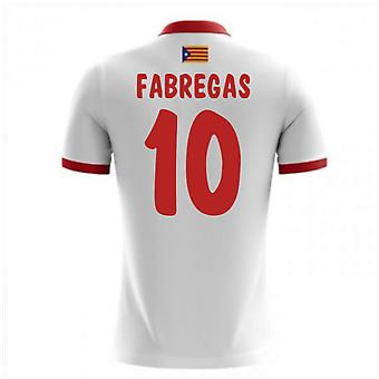2017-18 Catalunya Airo Away Shirt (Fabregas 10)