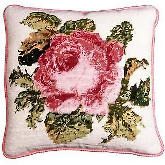 Rose Needlepoint Kit