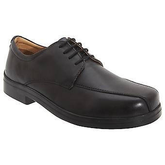 Roamers Mens XXX Extra large 4 yeux Tramline Gibson chaussures