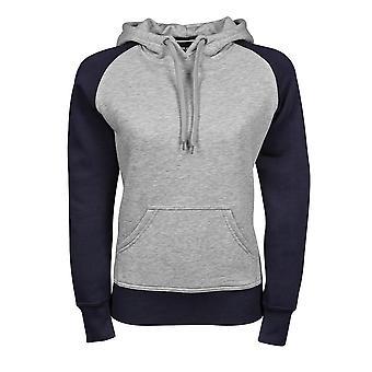 Tee Jays Womens/Ladies Two-Tone Hooded Sweatshirt