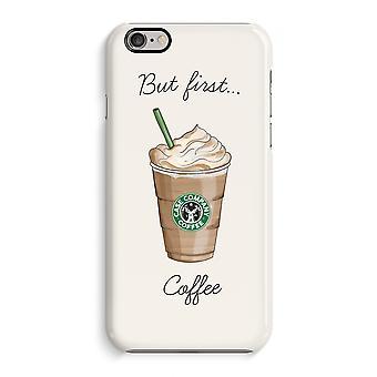 Caso iPhone 6 6s caso 3D (brilhante)-mas primeiro café