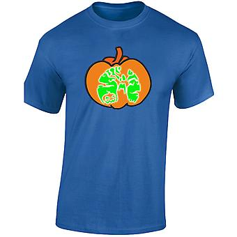 Halloween Pumpkin Glow In The Dark Fancy Dress Kids Unisex T-Shirt 8 Colours (XS-XL) by swagwear