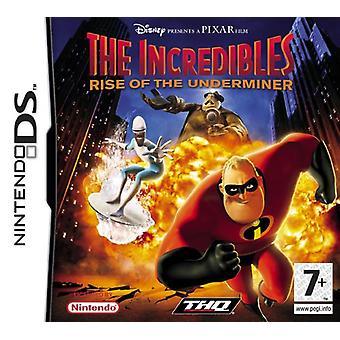 Superhjältarna Rise of the Undergrävaren (Nintendo DS)-nya