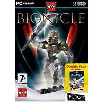 LEGO BIONICLE (Galidor dubbel förpackning) (PC)-fabriken förseglad