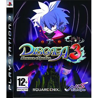Disgaea 3 Absence of Justice (PS3) - Als nieuw