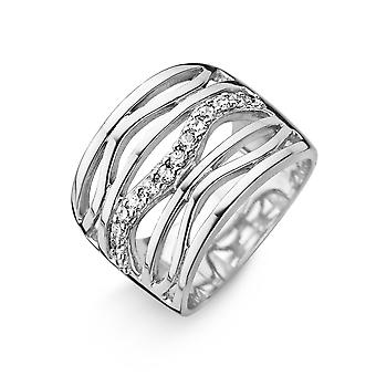 Orphelia Silver 925 Ring Gegolfd zirkonium ZR-3725