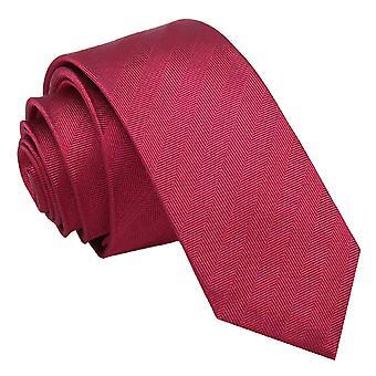 Bourgogne sildeben silke mager slips
