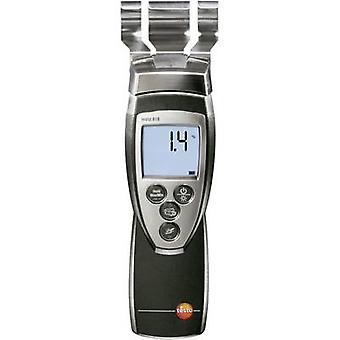 testo 616 Medidor de umidade Edifício faixa de leitura de umidade 0 até 20 vol% Faixa de leitura de umidade de madeira 0 até 50 vol%