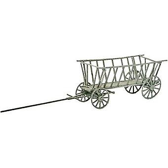MBZ 80123 H0 hay wagon open (real wood) Laser-cut assembly kit