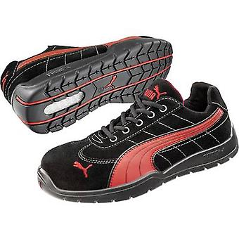 Protective footwear S1P Size: 43 Black, Red PUMA Safety SILVERSTONE LOW HRO SRC 642630 1 pair