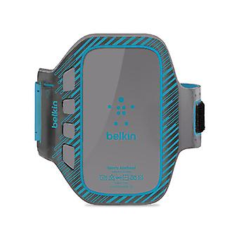 Belkin EaseFit Plus Armband Case for Samsung Galaxy S3, Galaxy S4, Galaxy Nexus (Gray/Blue)