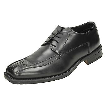 Mens Manchini Lace Up Formal Shoes