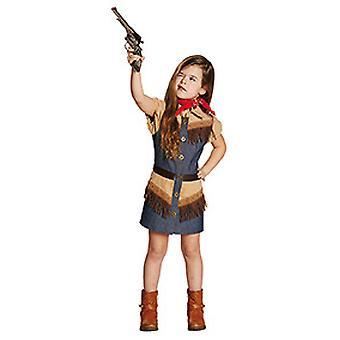 Cowboy Girl Western Jeanskleid Kostüm für Mädchen Cowgirl