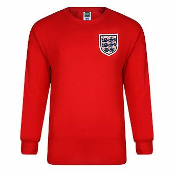 England FA Official mens 1966 World Cup Final retro skjorte