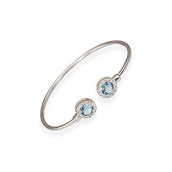 Blue bracelet with crystals from Swarovski 6327