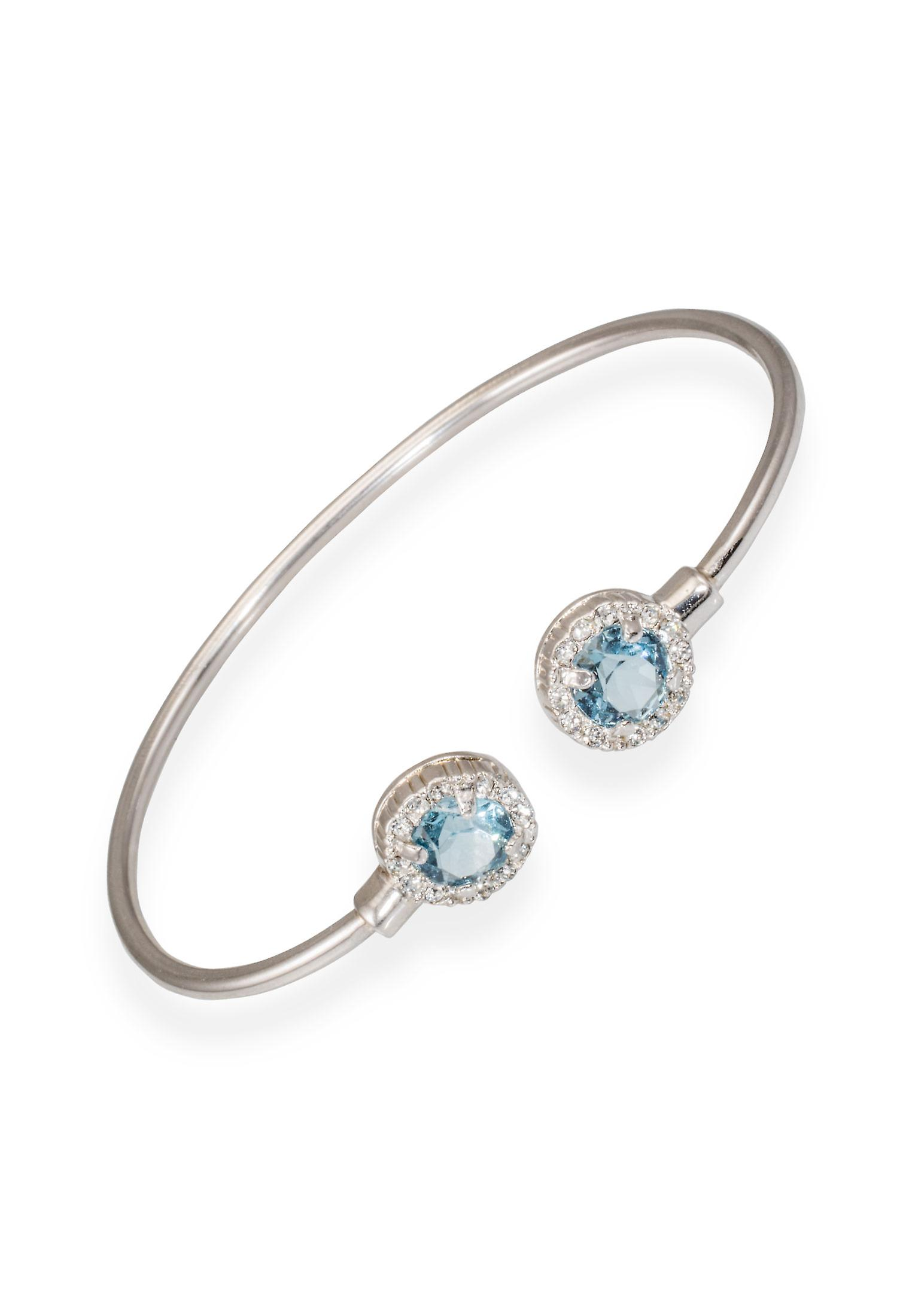 Blue bracelet with crystals from Swarovski 6327