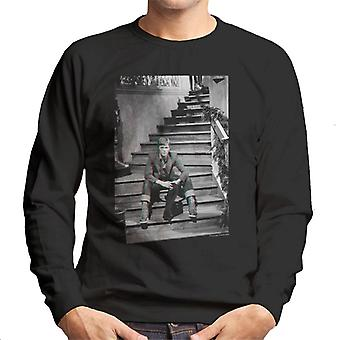 TV Times David Bowie Bing Crosby Show 1977 Men's Sweatshirt