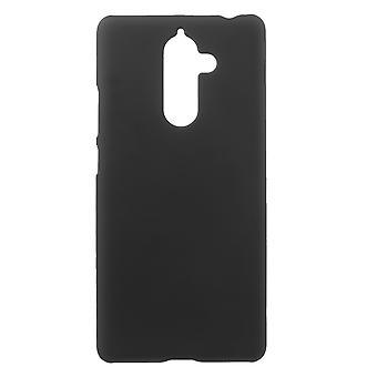 Nokia 7 Plus Gumowana twarda plastikowa powłoka - Czarna