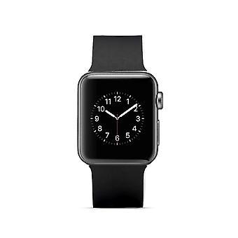 Klockrem silicone pour Apple Watch 4 40 mm, 3/2/1 38 mm-sergé