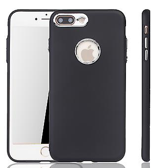Apple iPhone 7 / 8 plus case - cel telefoon case voor Apple iPhone 7 / 8 plus - mobiele zaak in zwart