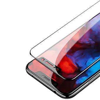 Huawei p smart 2019 / kunnia 10 Lite 1 x 3D premium 0,3 mm H9 kova mustaan diaan suojaa suojalasi uusi