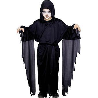 Screamer Ghost Robe, GIRLS Medium Age 7-9