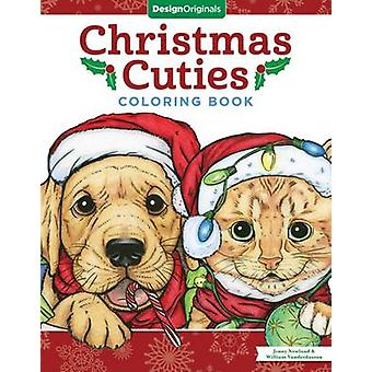 Christmas Cuties Coloring Book by Jenny Newland - William Vanderdasso