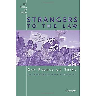Extraños a la ley: gays en juicio (ley, significado y violencia)
