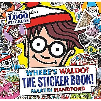 Var är Waldo? den klistermärke bok!