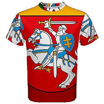 Lituania stema Jersey sublimated sport