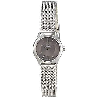 Calvin Klein ck minimal K3M23124-wrist watch for women, silver tone stainless steel strap