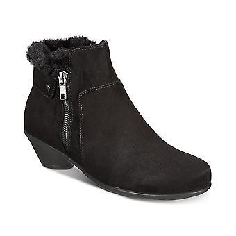 Karen Scott Womens Ursah Fabric Closed Toe Ankle Fashion Boots