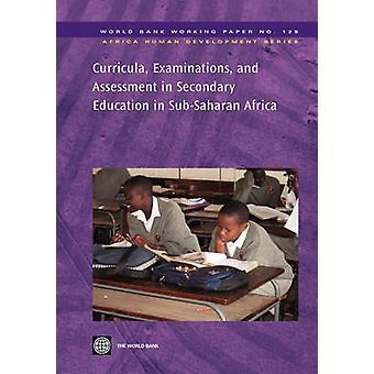 Læseplaner undersøgelser og evaluering i gymnasieuddannelse i SubSaharan Afrika af Verdensbanken