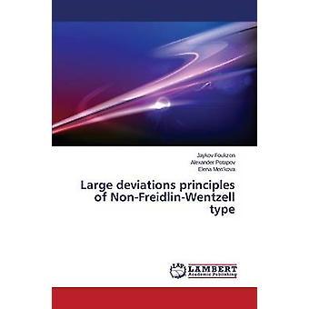 Large deviations principles of NonFreidlinWentzell type by Foukzon Jaykov