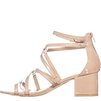 Materiaali tyttö naisten Minez avoin toe rento strappy sandaalit