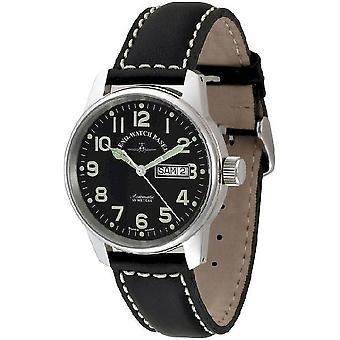 Zeno-watch mens watch classic pilot-date 6554DD-a1