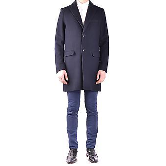 Massimo Rebecchi Ezbc214018 Men's Black Wool Coat